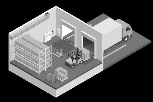 Пультовая охрана склада